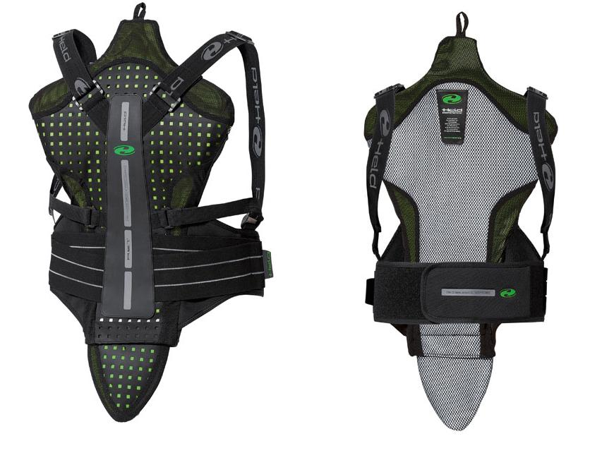 Armour and back protectors