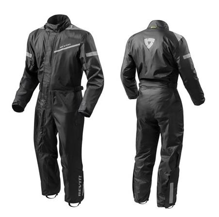 Rev'it Pacific 2 H2O 1 piece rain suit black